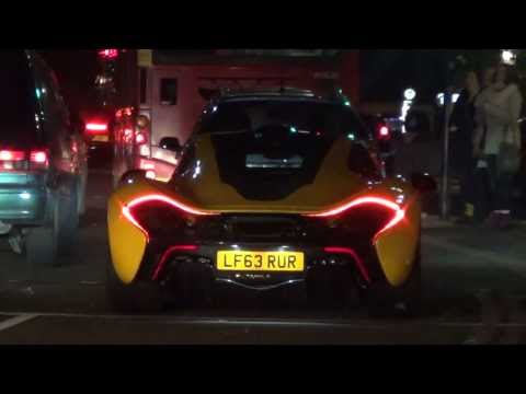 FIRST MCLAREN P1 ON STREETS IN LONDON!!!