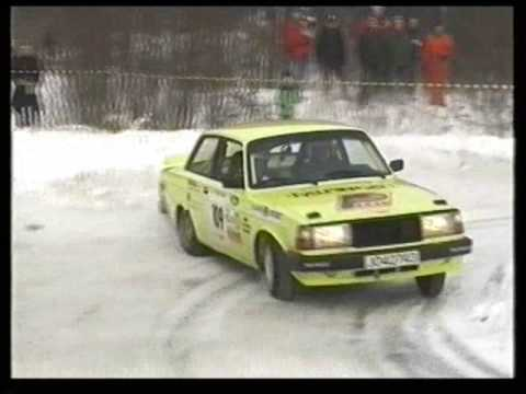 Vidar Furuseth i Volvo 240 Turbo Rally