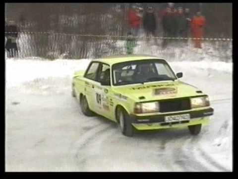 Vidar Furuseth i Volvo 240 Turbo Rally