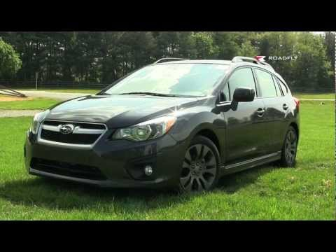 2012 Subaru Impreza Test Drive & Car Review with Emme Hall by RoadflyTV