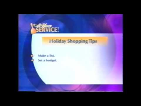 At Your Service!  Holiday Shopping Tips