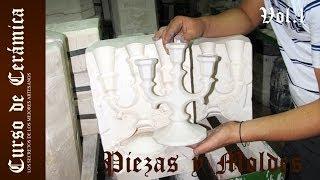 Cerámica: Como fabricar piezas con molde I