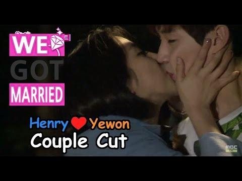 [ENG SUB - We got Married4] 우리 결혼했어요 - Yewon kisses Henry first! 예원, 먼저 헨리에게 '입술 도장' 꾹! 20150523