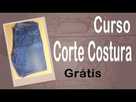 Corte e Costura passo-a-passo Customização de Bermuda Jeans Ultra Fácil - DIY