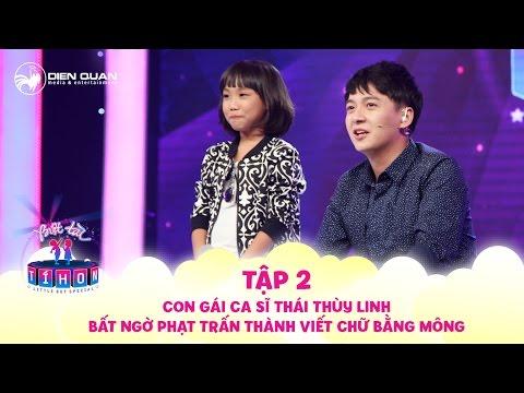 Biệt tài tí hon | tập 2: Con gái ca sĩ Thái Thùy Linh bất ngờ phạt Trấn Thành viết chữ bằng mông