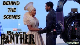 Black Panther Bloopers, B-Roll, & Behind the Scenes(BTS) - 2018 | I'm Filmy Exclusive