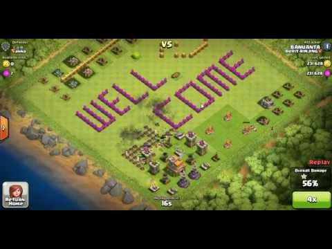 Clash of clans BURIT-RINJING