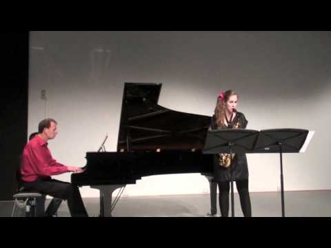 Marijke Schröer, Edison Denisov, Sonate I