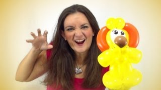 LION Balloon Animal How To Instruction Tutorial Tuesday