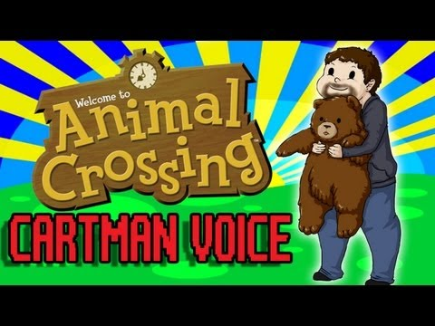 "Diction Plays Animal Crossing 4- Cartman Voice, This is Animal Crossing on the Gamecube. It is very cute and makes me ""d'awwe."" Original drawing by: http://yami-okami-yasha.deviantart.com/ FOLLOW ME ON TWI..."