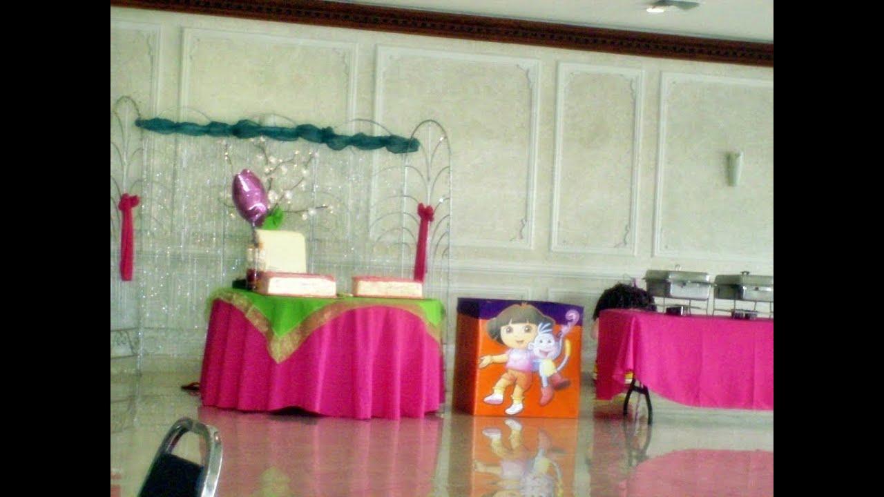 Como decorar una fiesta sencilla diy youtube for Como decorar una casa sencilla