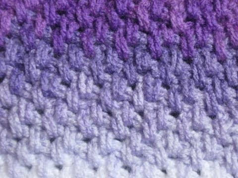 Crochet Stitches - Meladora's Thick Mesh / Brick Stitch Tutorial