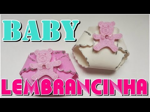 Lembrancinha de maternidade e chá de bebê em EVA economize fazendo as suas em casa