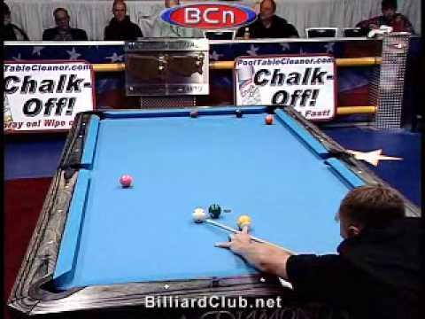 U.S. Open 9-Ball Championship Pro Pool Action: Rodney Morris vs. Thorsten Hohmann