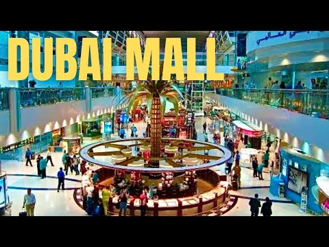 The Dubai Mall Worlds Largest Shopping Mall *HD* 2013