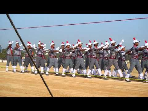 Republic Day Parade at hyderabad 2014