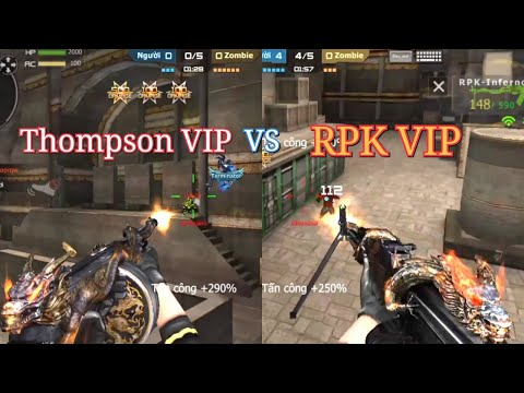 CF Mobile/CF Legends | Thompson VIP vs RPK VIP - VIP Nào Ngon ???