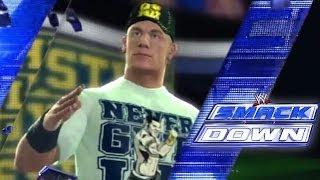 """WWE SmackDown Open """"WWE 2K14"""" Style"""