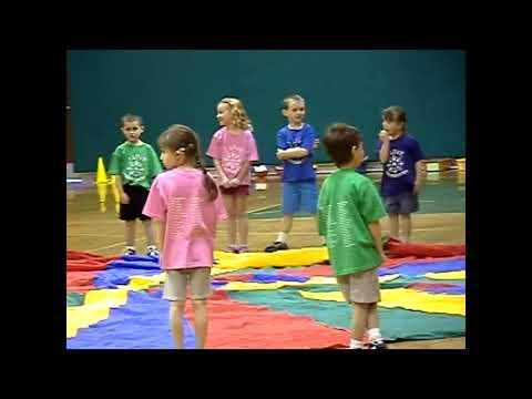 CCRS Kindergarten Gym Show 4-9-09