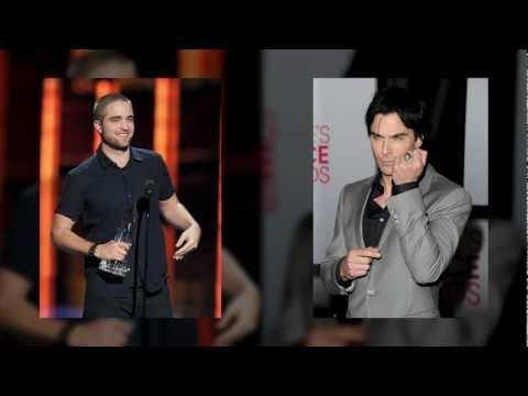 Robert Pattinson Vs. Ian Somerhalder: Who Looked Hotter At The 2012 People's Choice Awards?
