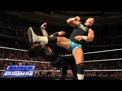 CM Punk & The New Age Outlaws vs. The Shield: SmackDown, Jan. 10, 2014,