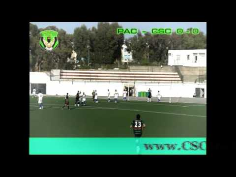 PAC 0 - CSC 0 - Quelques actions du match