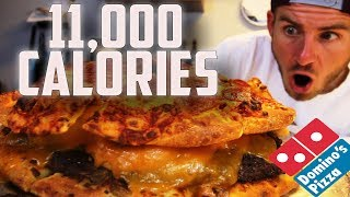 """THE ULTIMATE DOMINO'S """"PIZZA-BURGER"""" 