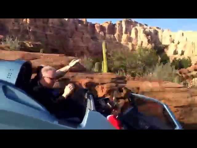 Disneyland Cars Land Radiator Springs Racers Ride POV 2014 video