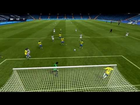 Fifa13 - Partida Online (Brasil 2 x 0 Real Madrid) - PC Game