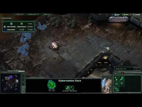 Свежее видео Starcraft 2