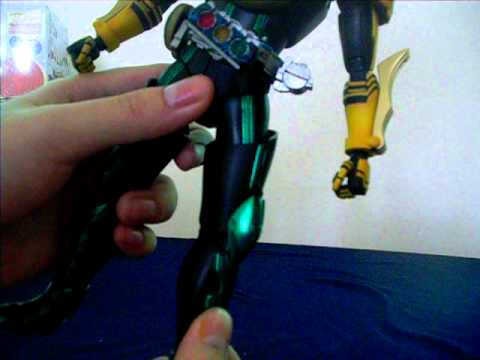 kamen rider OOO painted review