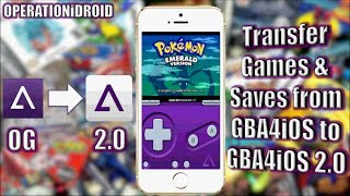 GBA4iOS 2.0: How To Transfer Games & Saves To GBA4iOS 2.0