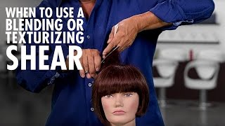 Texturizing, Thinning And Blending Shears Which To Use