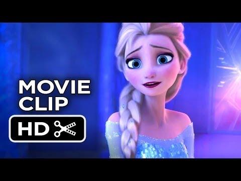 Frozen Extended CLIP - Elsa's Palace (2013) - Disney Princess Movie HD