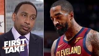 Stephen A.: JR Smith's Finals Game 1 play ruined his future in the NBA | First Take