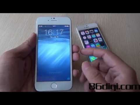 WICO i6:The world's first cloned version of iPhone 6 hands on