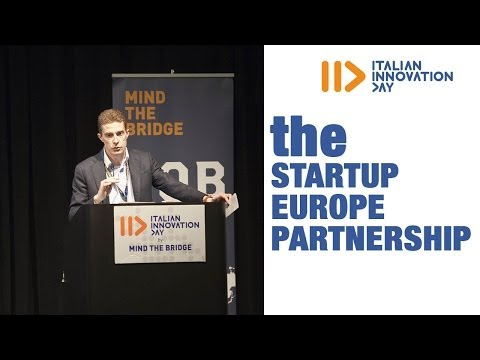 The Startup Europe Partnership - Italian Innovation Day 2014