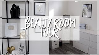 BEAUTY ROOM REVEAL + TOUR || EVETTEXO