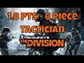 The Division PTS Testing Tacticians 6 Piece Gear Set