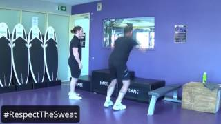 Anytime Fitness Box Jumps Movember Move