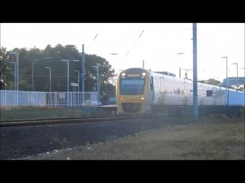 Queensland Rail   SMU 279, 2xx leave Bethania