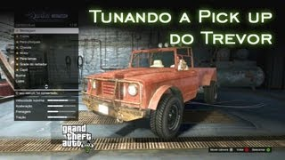 Tunando A Pick Up Do Trevor GTA V [PT-BR]