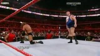 Raw Vs Big Show WWE Raw 26/10/09 HQ