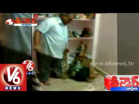 Kakinada Private school teachers brutally punished blind students - Teenmaar News