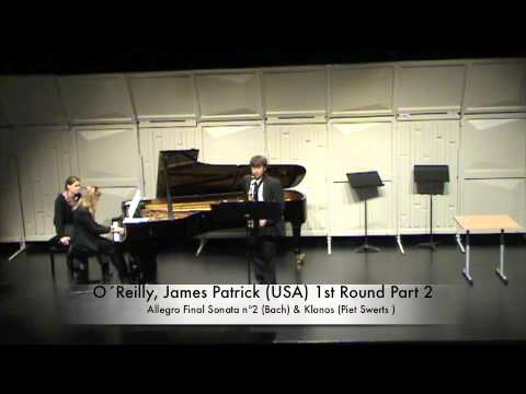 O´Reilly, James Patrick (USA) 1st Round Part 2