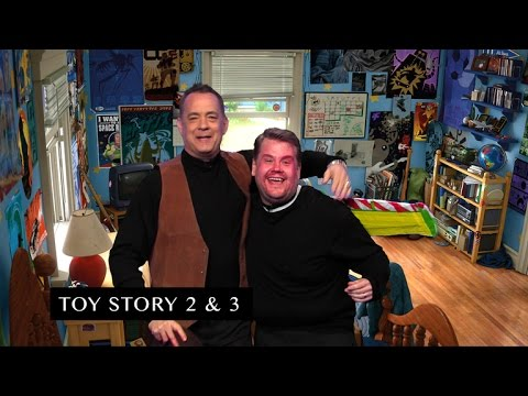 James Corden and Tom Hanks Act Out Tom's Filmography, James Corden and Tom Hanks Act Out Tom's Filmography