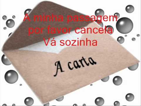 Eduardo Costa - A CARTA (LEGENDADO)