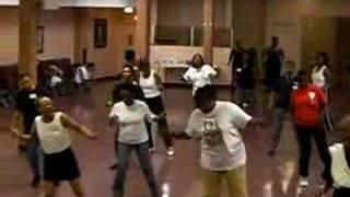 Wild Wild West Line Dance (6/27/08)