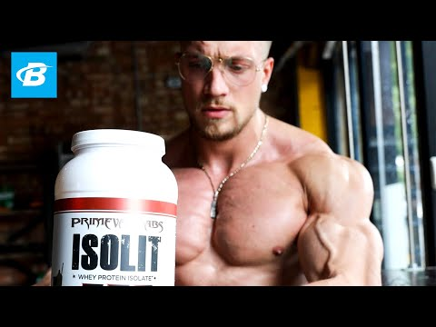 The Supplements I Use to Build Muscle + Chest & Back Workout | Joesthetics