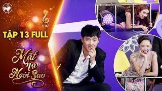 """Mặt nạ ngôi sao  Tập 13 full: Ngô Kiến Huy """"đóng băng"""" toàn thân với """"thánh soi"""" Thu Trang, Tóc Tiên"""